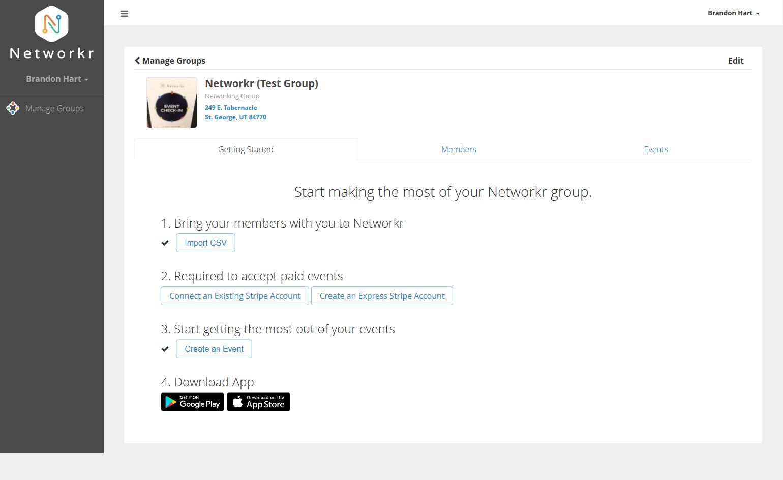Uploading A CSV File | Networkr